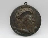 1893 World's Fair Christopher Columbus Medal Medallion Kato