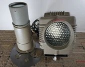 Vintage Naren Industrial Pro-Spot Model N-102 Stage Light With Accessories