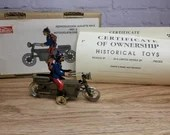 "Contemporary 1998 Paya #336 1926 ""Ibense"" Motorcycle 4"" Long Spain Mint Box"