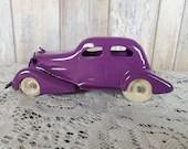 Pressed Steel Wyandotte Marx Easter Purple Restored 2 Door Fastback