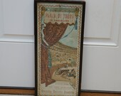 October 1897 Plaza De Toros Bullfighting Poster Advertisment On Silk Poster