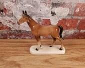 Vintage German Porcelain Standing Horse Hertwig Katzhütte