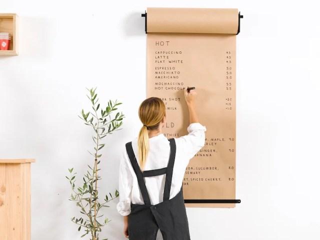 Butchers Paper Dispenser  Rodillo de papel montado en la image 4