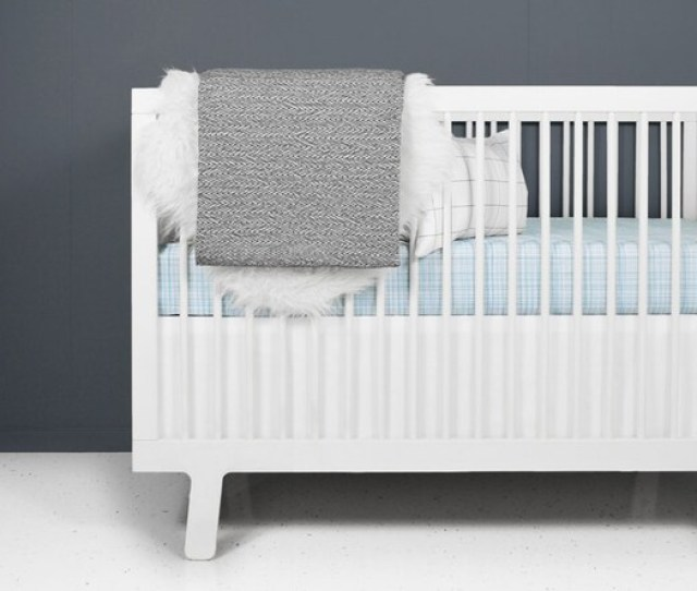 Modern Crib Bedding Set Hatch Blue Modern Crib Bedding Modern Nursery