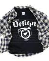 Kids T Shirt Mockups Gildan 5100p Black T Shirt Toddler Flat Etsy