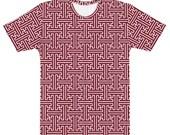 Sayagata #2 Holy Red - Unisex AOP T-shirt