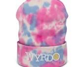 Wyrdo - Tie-dye beanie(4 color options)