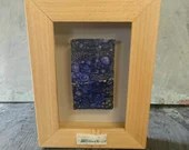 ceramic art - ceramic picture - unusual gift - picture - wave picture - framed picture - swirl ceramic picture - art
