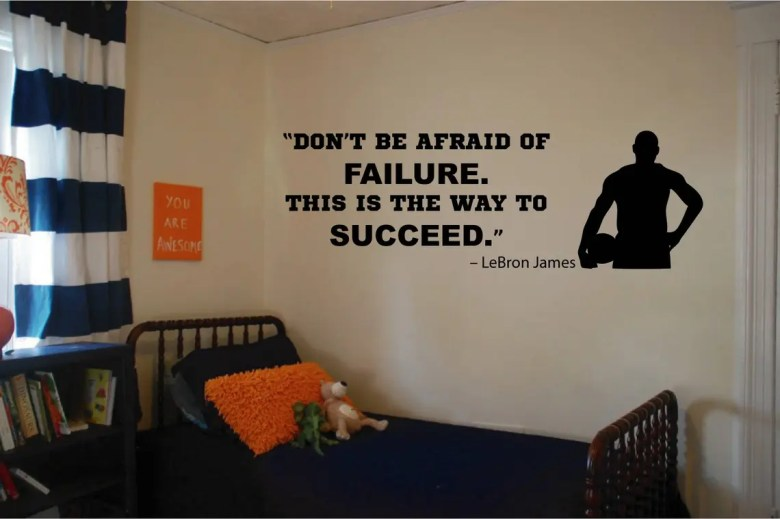 LeBron James Wall Quote by Identity Graphics
