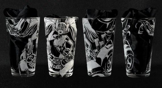 DJ Sona Kinetic League of Legends Engraved Drinking Glass