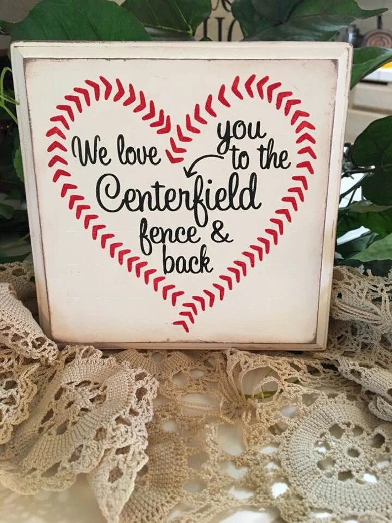 Download I Love You To The Centerfield Fence And Back Baseball Svg ...