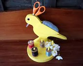 SALE! Vintage Folk Art Se...