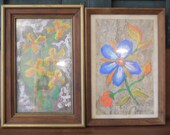 Pair of Flower Paintings,...