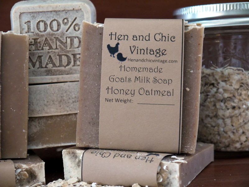 Handmade Oatmeal Honey Go...