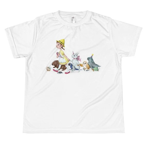 Promenade of the Animals • All-over youth sublimation T-shirt