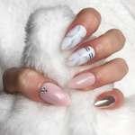 Acrylic Nails Marble