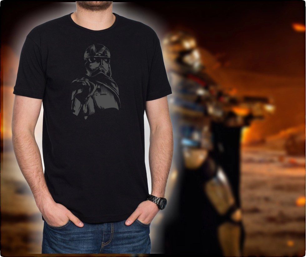Star Wars - Captain Phasma T-Shirts