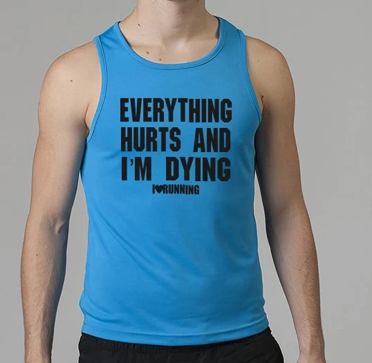 Everything Hurts & I'm Dying: Running Vest