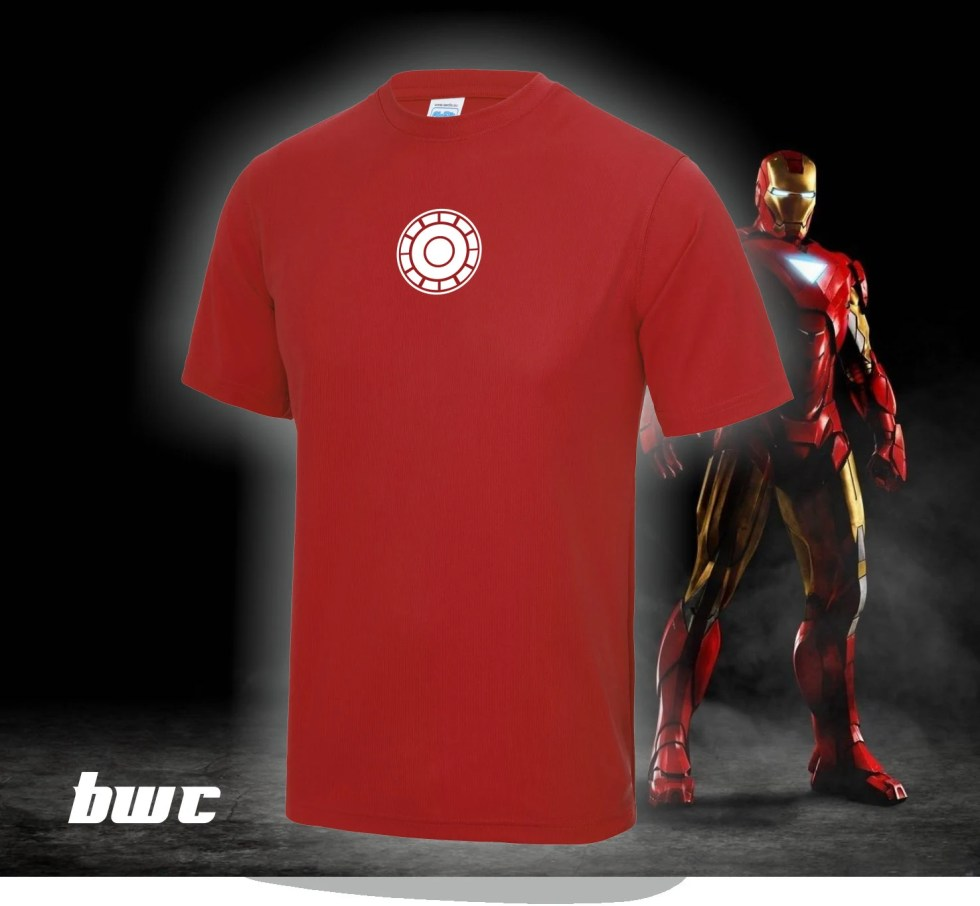 Iron Man:  Running/Work Out Tee shirt