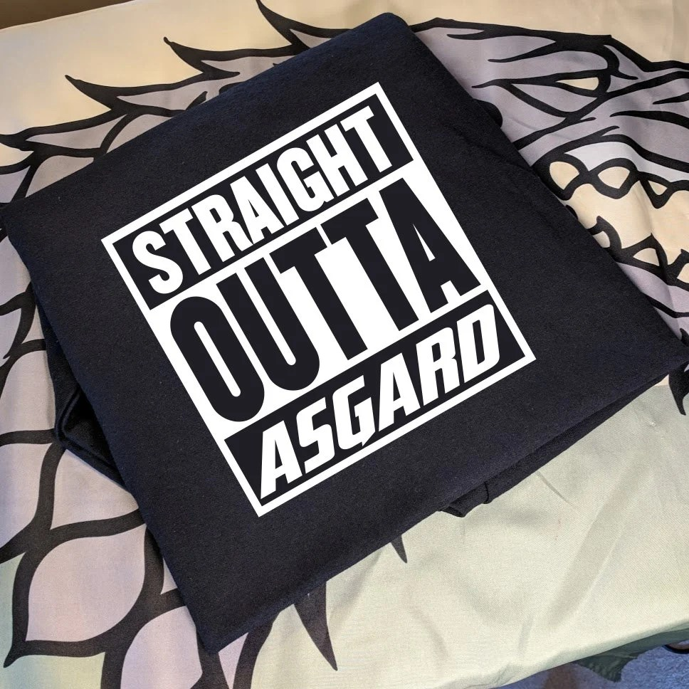 Thor - Straight Outa Asgard T-shirt