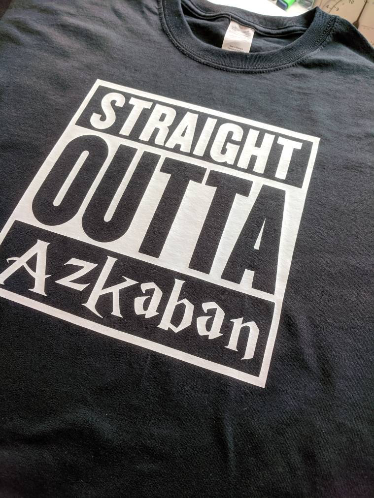 Harry Potter: Straight Outta Azkaban Tee shirt