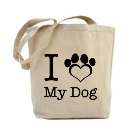 I Love My Dog Bag