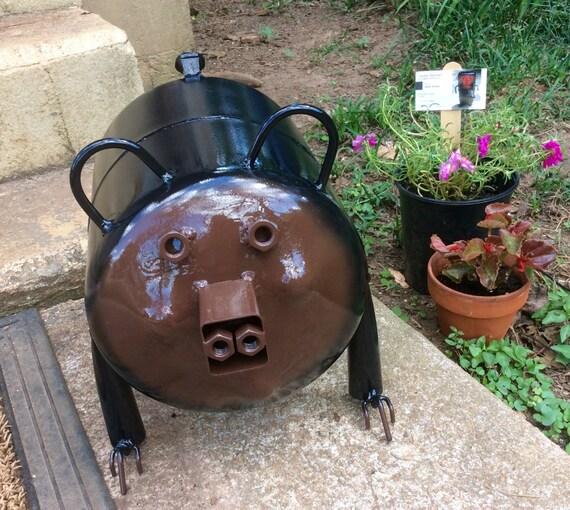 Items similar to Black Bear RECYCLED Metal YARD Art ... on Backyard Metal Art id=67823