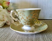 Vintage Royal Grafton Teacup & Saucer / Fine Bone China Made in England