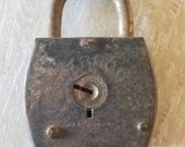 Vintage Terror Padlock/Vintage Lock/ Antique Locks