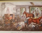 1942 Currier and Ives Printmakers to the American People by Harry T Peters