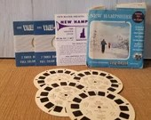 Vintage View Master Film Mr. Lincoln,  3 reel sets Viewmaster Slide/ H8