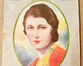 Vintage Theatre Magazine /  April 1928 Judith Anderson