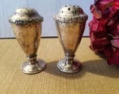 Vintage Sherfield Salt and Pepper Shaker / 564