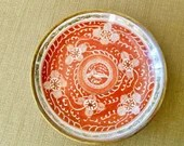 Japanese Porcelain Plate with Gold Trim, Decorative Porcelain Asian Wall Hanging Plate Dish /hand painted