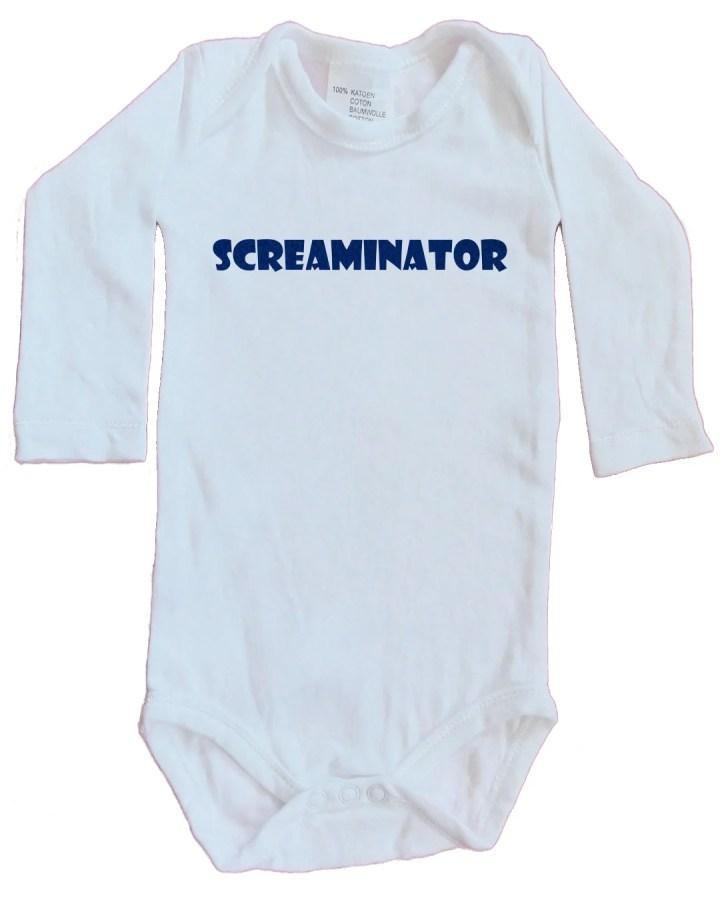 Screaminator Onesie, long...