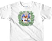 Cute Gnome Family Portrait For Holiday Gnome Lover Christmas Short sleeve kids t-shirt