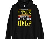 Dear Teacher I Talk Funny Back To School Hoodie