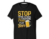 Beer Lover You Are Not A Beer Funny Beer Drinker Gift T-shirt