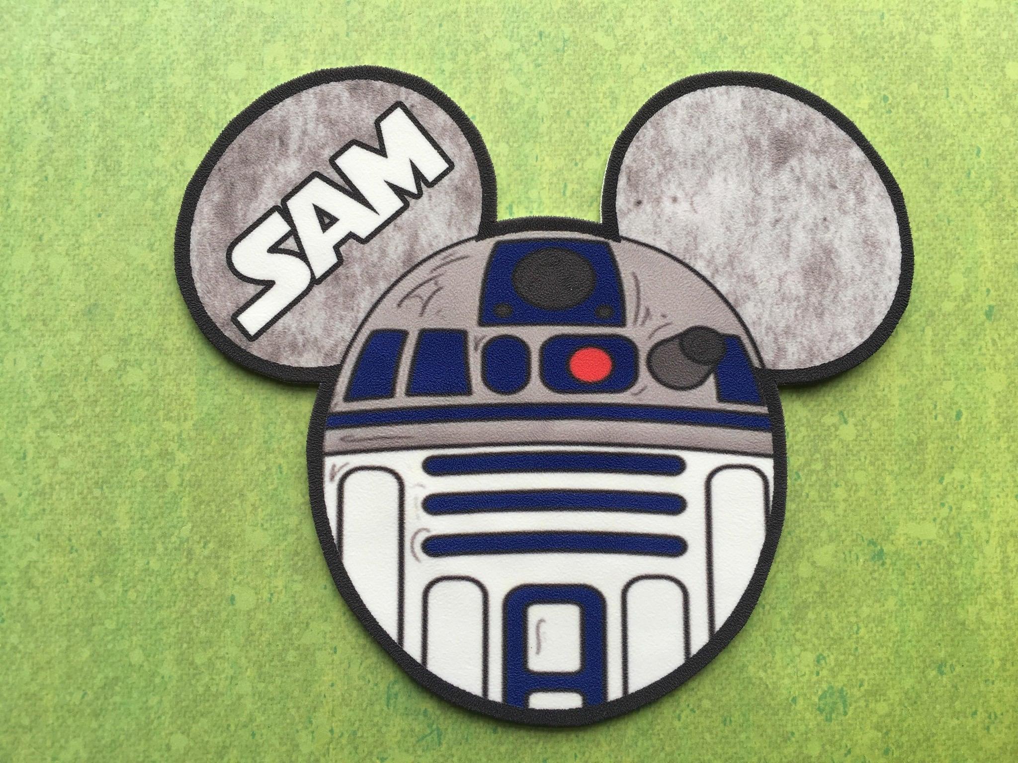 Disney Cruise Door Magnet Star Wars Magnet R2d2 Magnet