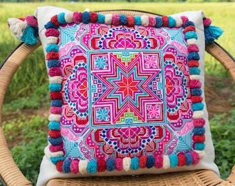 bohemian pillow cases ethnic pillow