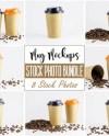 Mug Mockup Bundle 5 Paper Cup Mockup Coffee Mug Mockup Etsy