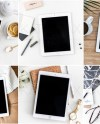 Modern Tablet Mockups Styled Stock Photo Product Mockup 21 Etsy