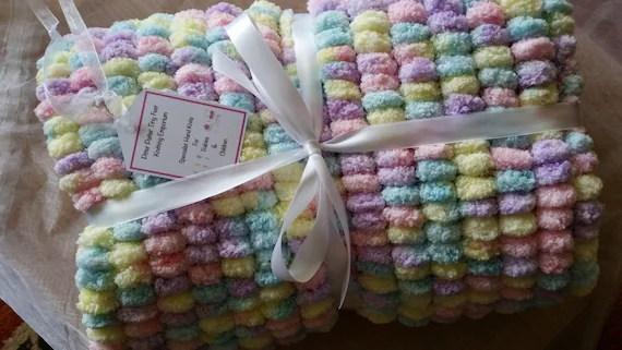 Pom Pom Marshmallow Cloud Baby Blankets