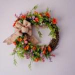 Door Wreath Front Door Wreath Daisy Wreath Year Round Etsy