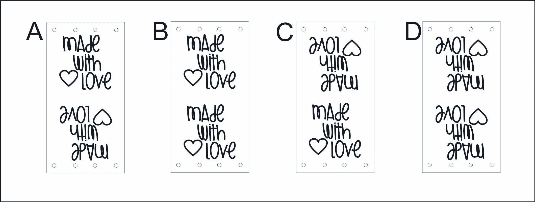 Custom tag ultra suede tag fabric custom tag personalized image 3