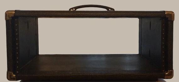studio rack case 4u 19 rack mount case guitar amp case etsy