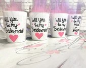 Will You Be My Bridesmaid - Will You Be My Makd Of Honor - Matron of Honor - Engaged -Bridesmaid Coffee Mugs