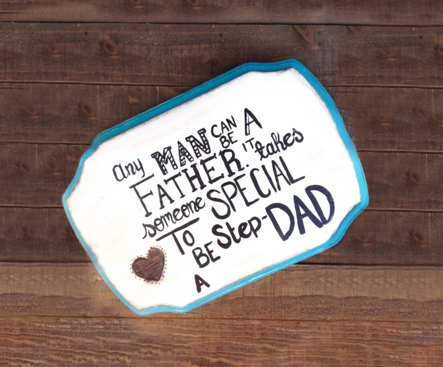 Any man can be a father i...