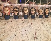 Bridesmaid Caricature Tumblers - Charicature Bridal Party Gifts - Groomsman Gifts - Be My Maid - Bridesmaid - Maid of Honor