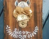 Bless Our Nest - Horse Gifts - Horse Head Wooden Sign - Woodwork with Horses - Gifts for Horse Lover